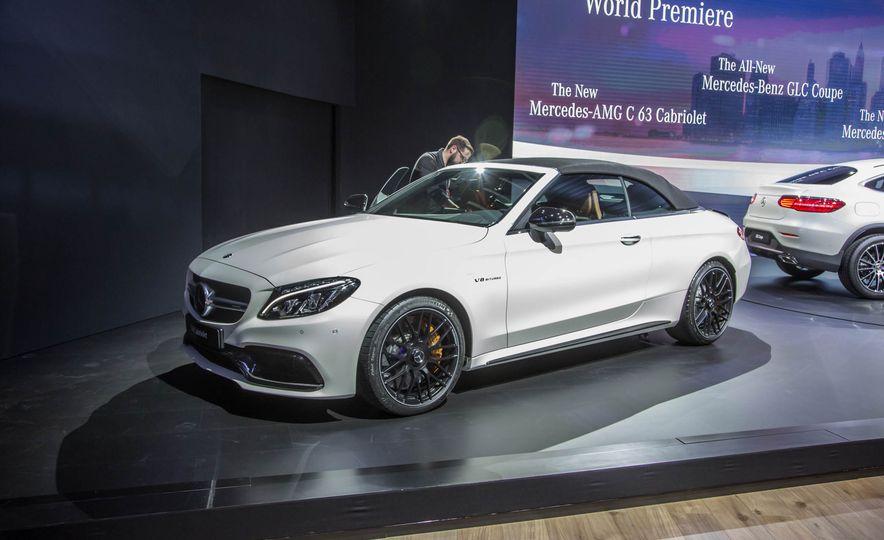 2017 Mercedes-AMG C63 cabriolet - Slide 1