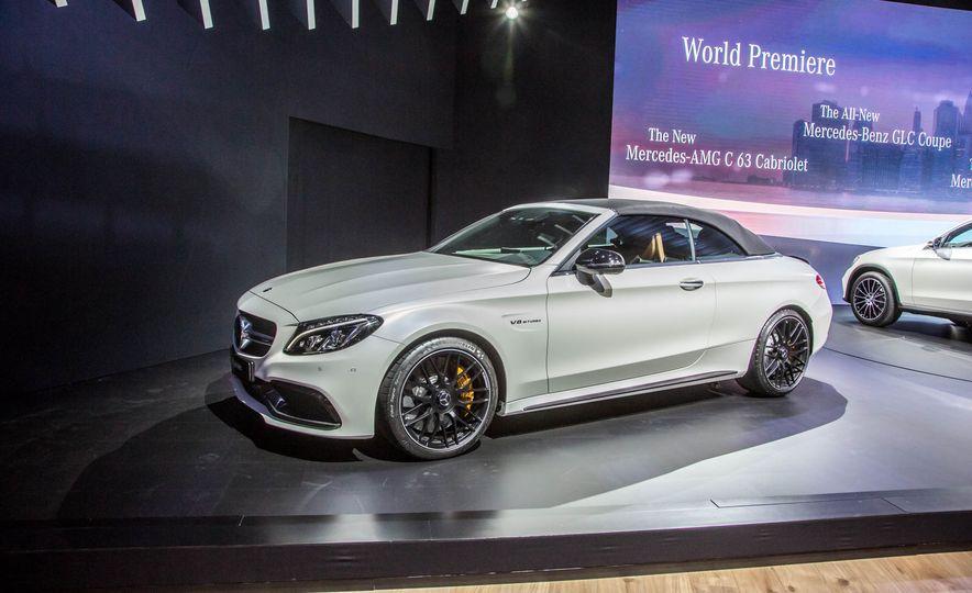 2017 Mercedes-AMG C63 cabriolet - Slide 2