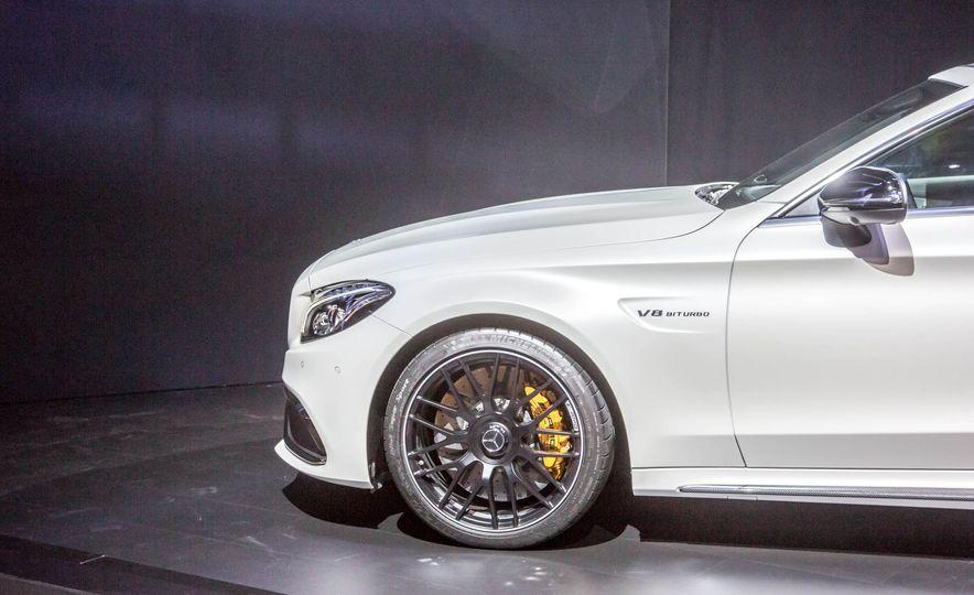 2017 Mercedes-AMG C63 cabriolet - Slide 11