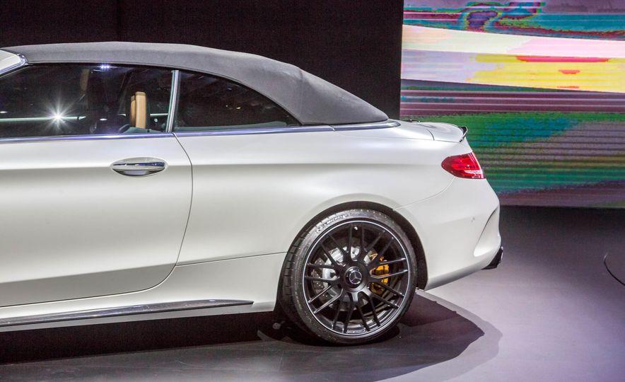2017 Mercedes-AMG C63 cabriolet - Slide 14