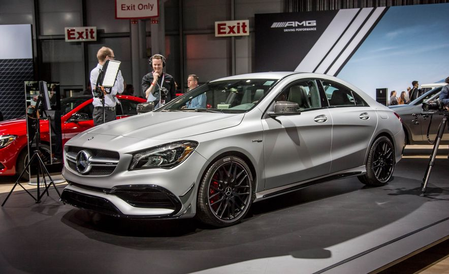 2017 Mercedes-AMG CLA45 - Slide 1