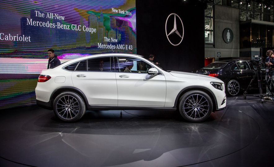 2017 Mercedes-Benz GLC-class coupe - Slide 1