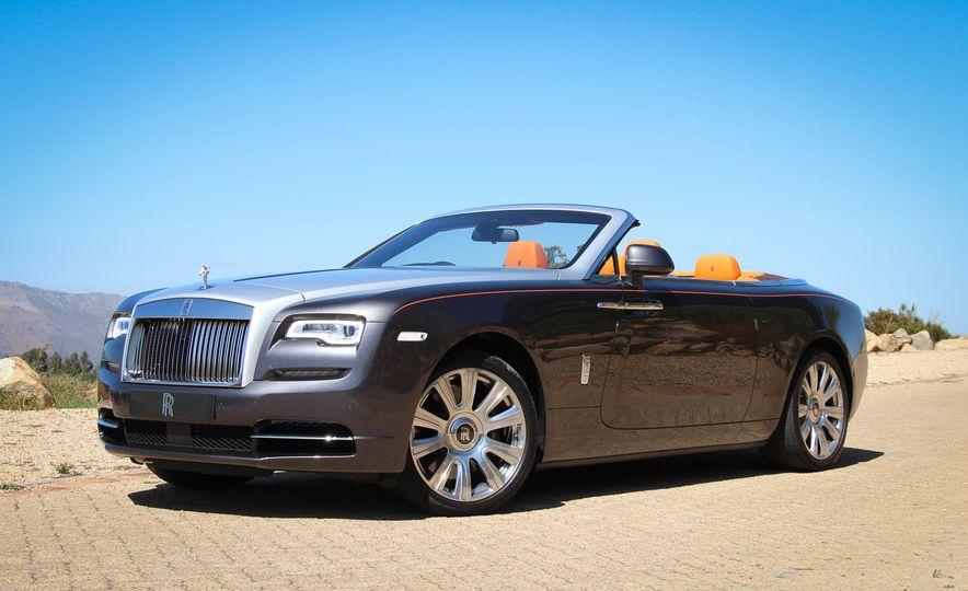 2016 Rolls-Royce Dawn - Slide 22