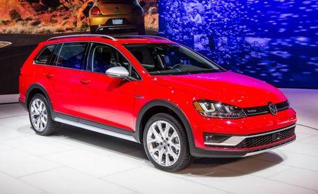 2017 Volkswagen Golf Alltrack Debuts in U.S. Spec