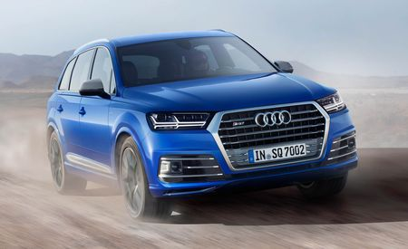 2017 Audi SQ7 TDI: The High-Voltage Diesel SUV – Official Photos and Info