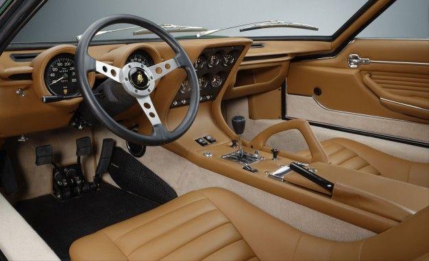 Gorgeous 1971 Lamborghini Miura Sv Restored By Polostorico News