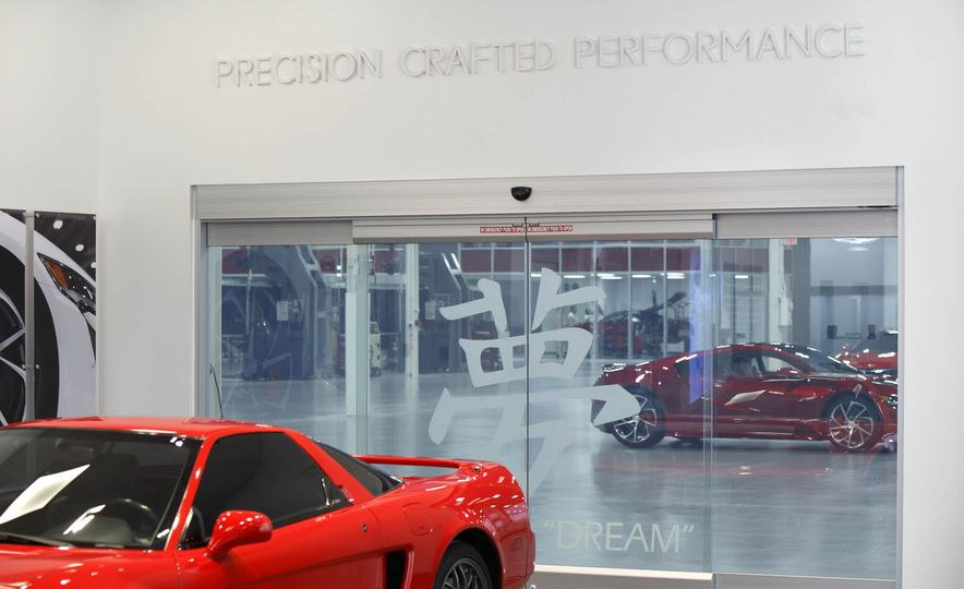 Acura NSX factory tour - Slide 3