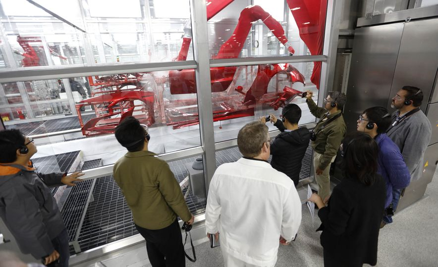 Acura NSX factory tour - Slide 36