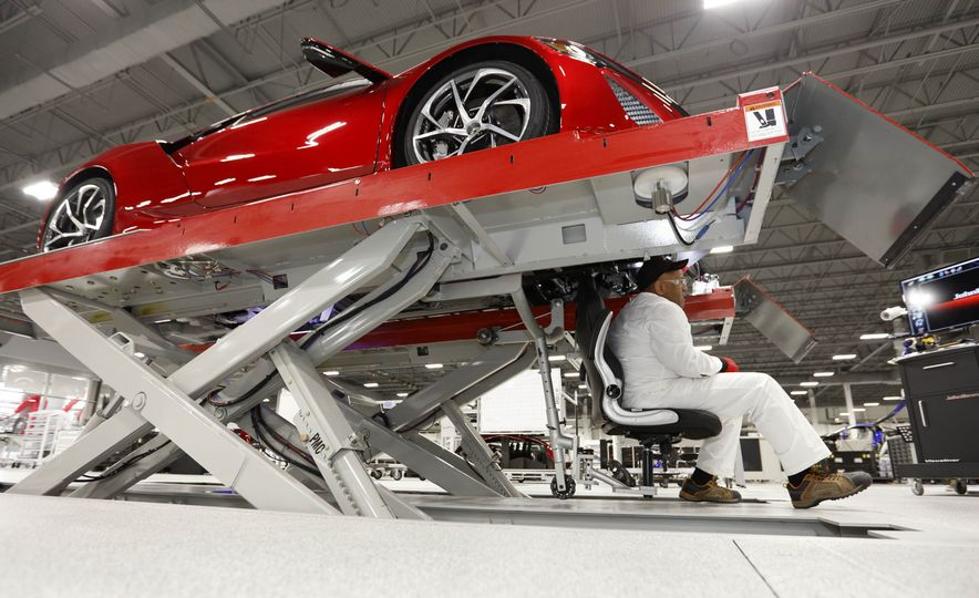 Acura NSX factory tour - Slide 57
