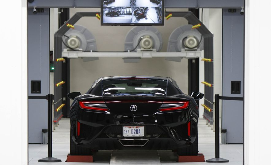 Acura NSX factory tour - Slide 60