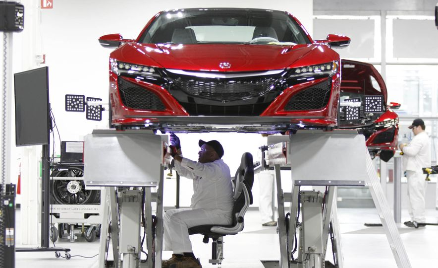 Acura NSX factory tour - Slide 62