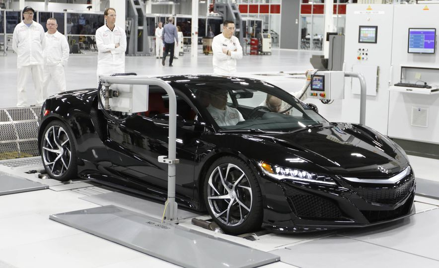 Acura NSX factory tour - Slide 63