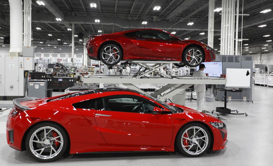 Acura NSX factory tour - Slide 64