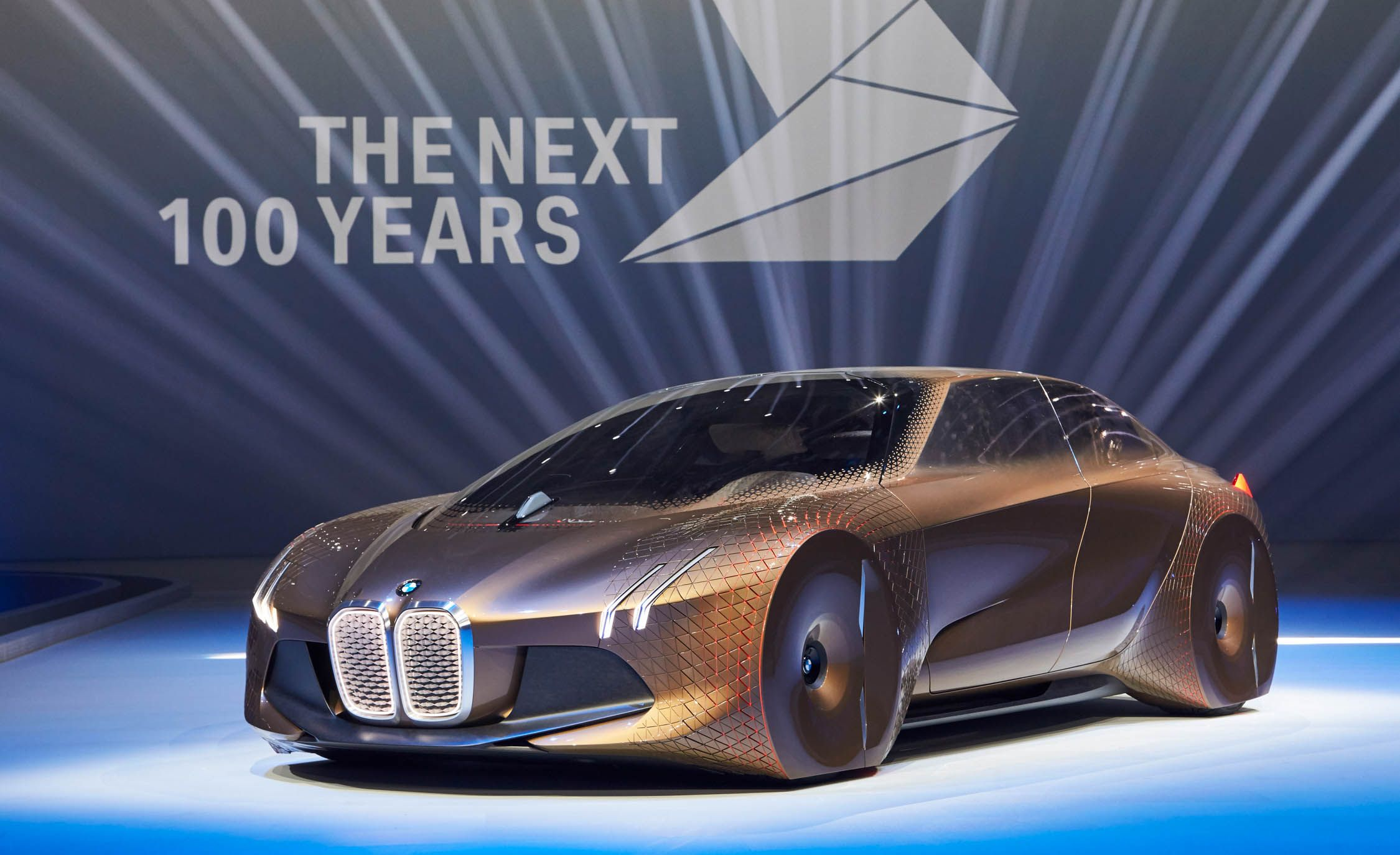 BMW Unveils Its Vision Next 100 Concept  News  Car and Driver