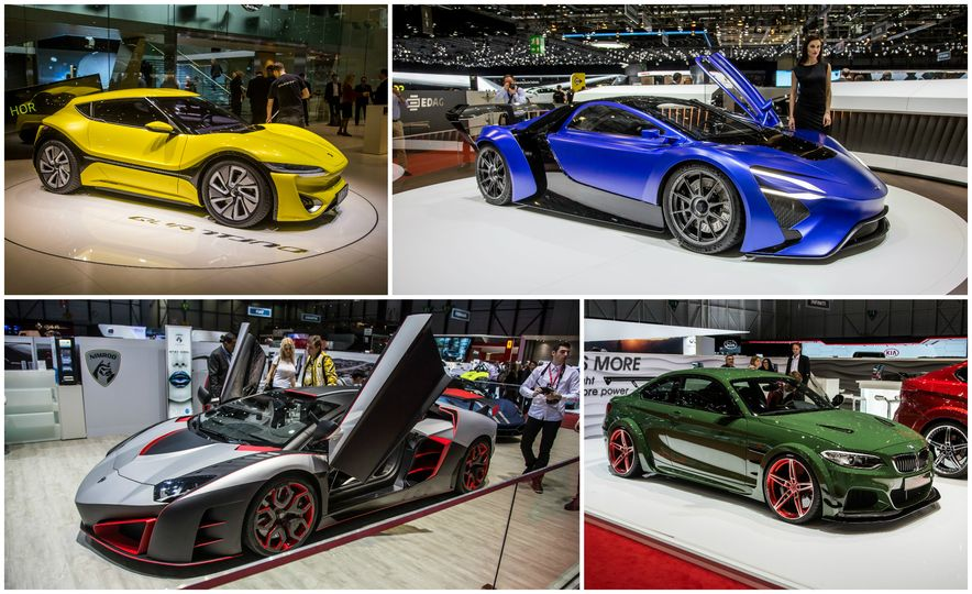 11 of the Wildest Rides of the 2016 Geneva Auto Show - Slide 1