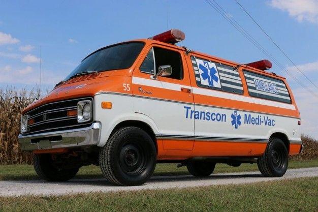 High-Speed Road Trip, Anyone? Cannonball Run Ambulance Clone For Sale on eBay