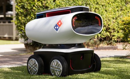 What Took You So Long? Domino's Introduces Pizza-Delivery Robot