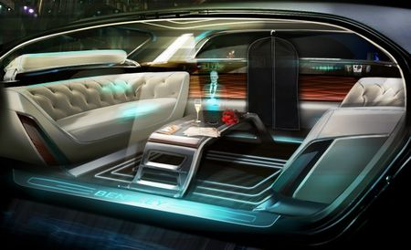 "Bentley Shows Autonomous ""Future of Luxury"" Pod, Complete with Holographic Butler"
