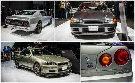 Godzilla Invades NYC: Vintage Nissan Skyline GT-Rs at NYIAS