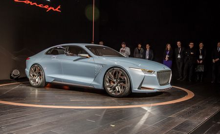 Genesis New York Concept: Subdued-Looking Sports Sedan Previews an Upcoming 3-series Rival – Auto Shows