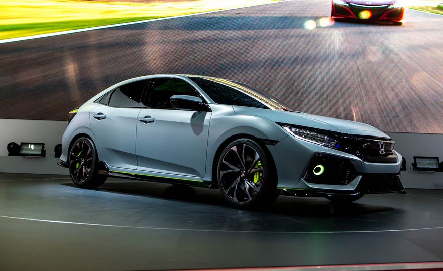 2017 Honda Civic Hatchback Prototype - Slide 20
