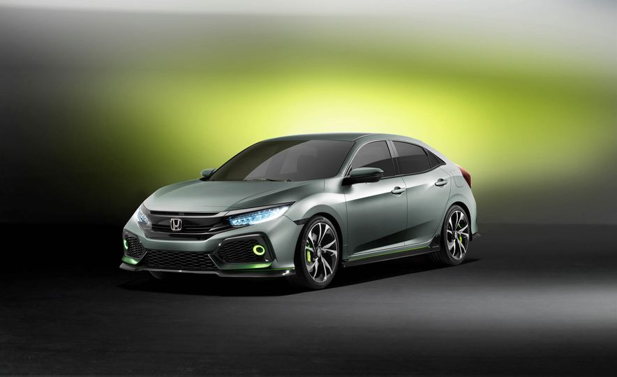 2017 Honda Civic Hatchback Prototype - Slide 26