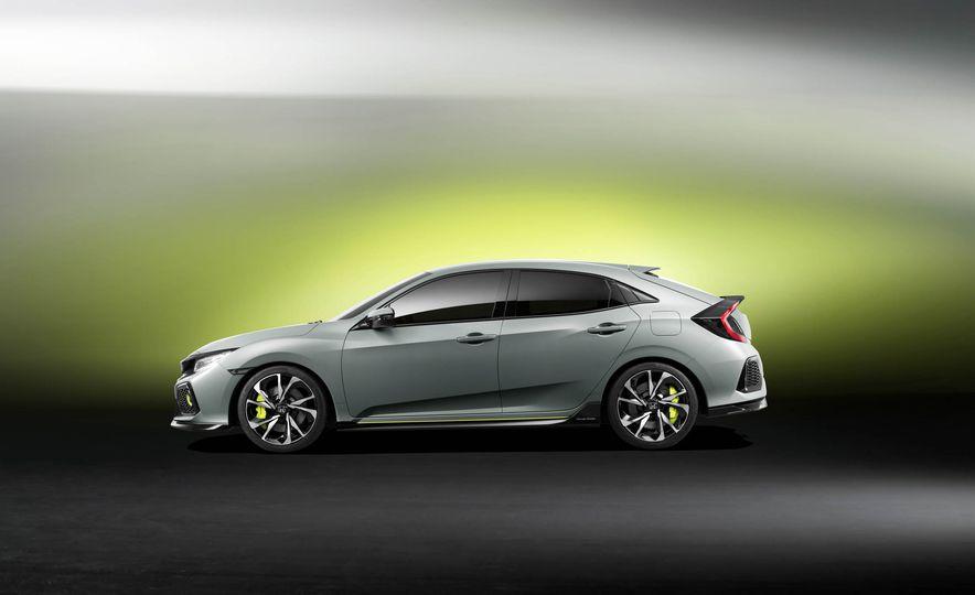 2017 Honda Civic Hatchback Prototype - Slide 27