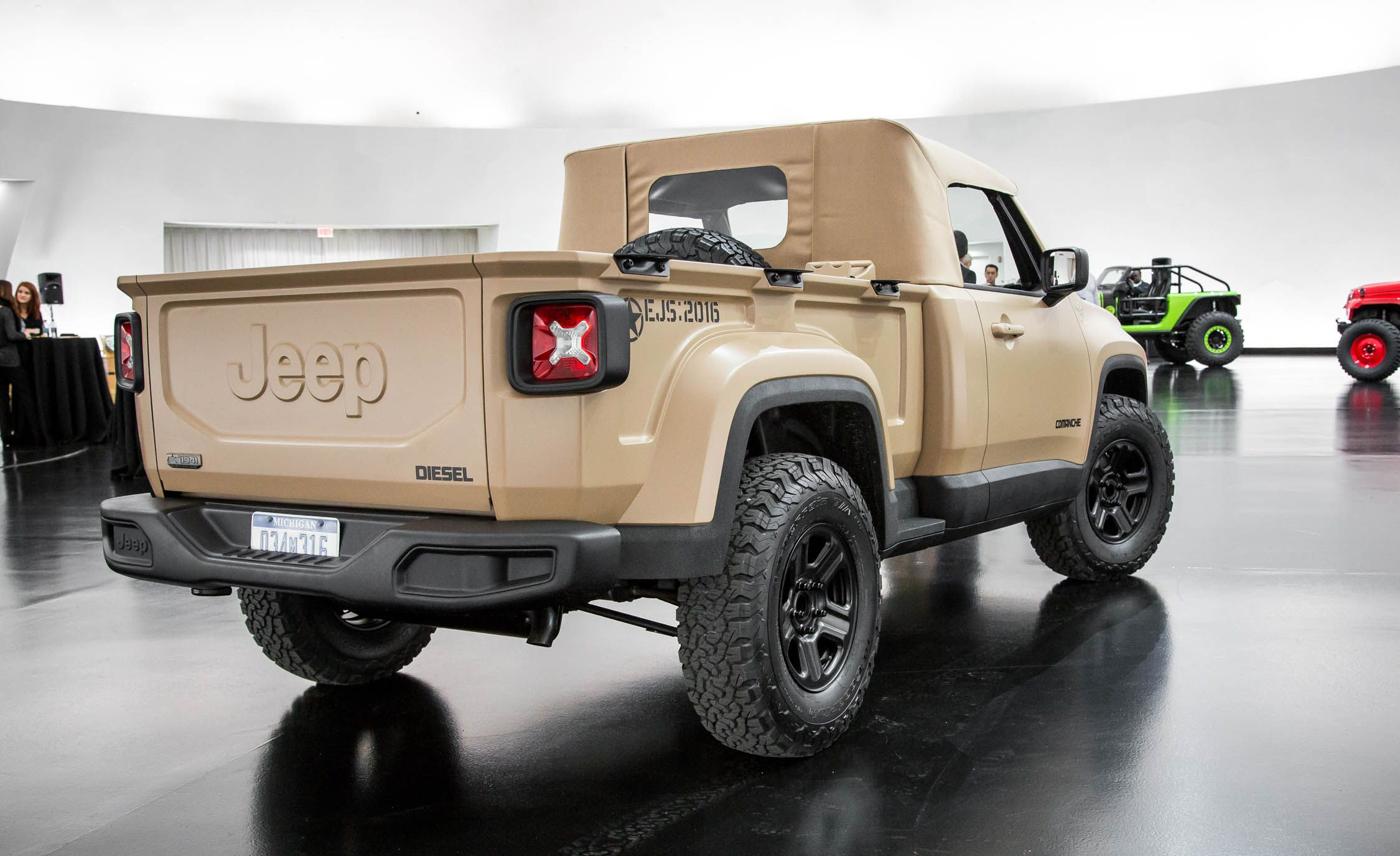 Jeep Chief Concept For Sale >> Every Crazy Jeep Concept Created for the 50th Easter Jeep Safari