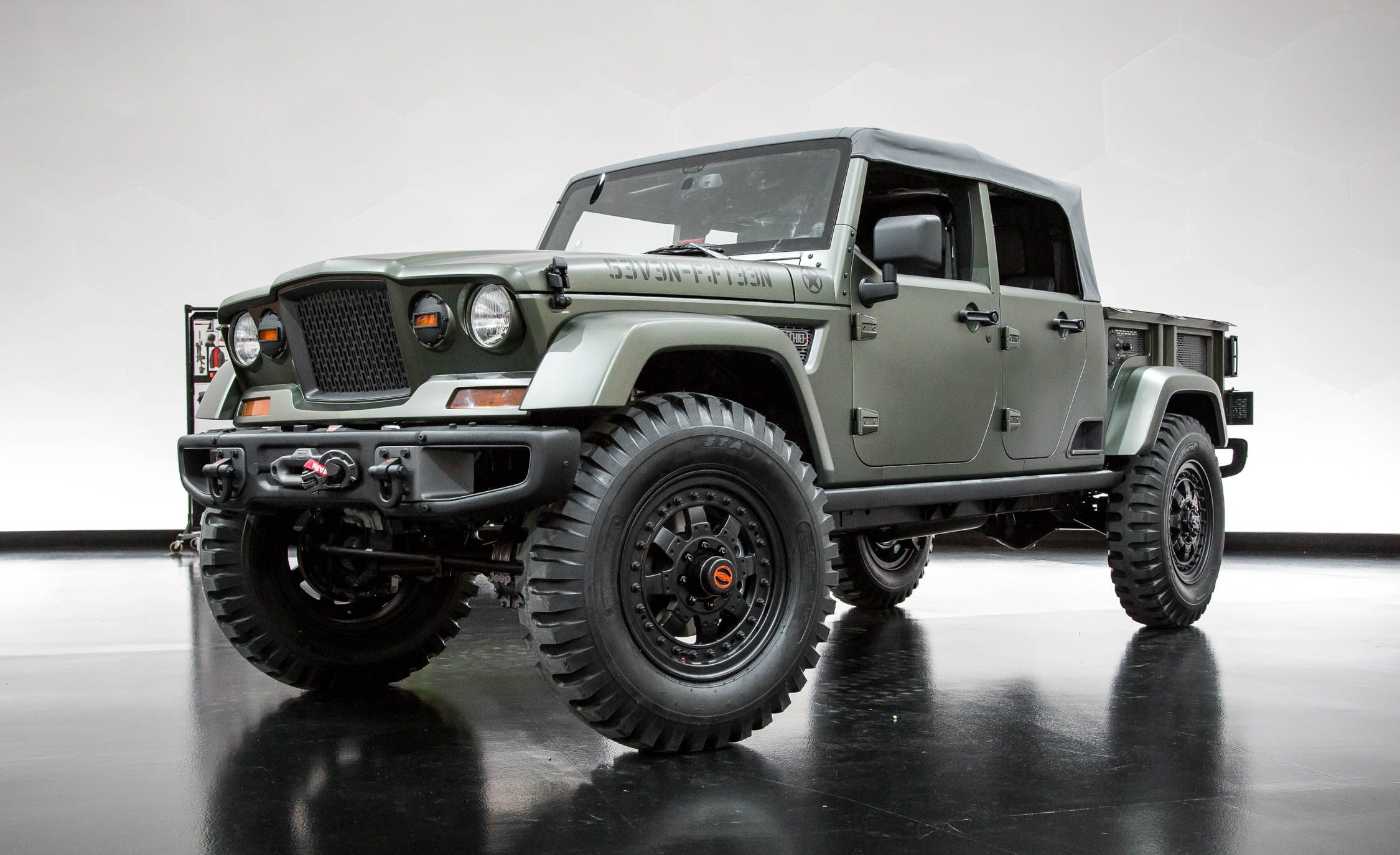 Jeep Concept 2016 >> Every Crazy Jeep Concept Created For The 50th Easter Jeep Safari