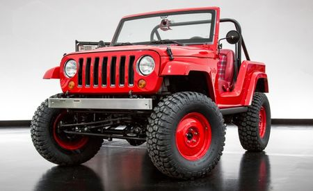 Prime Cut: Jeep Shortcut Concept Is a Wrangler Trimmed to CJ-5 Size