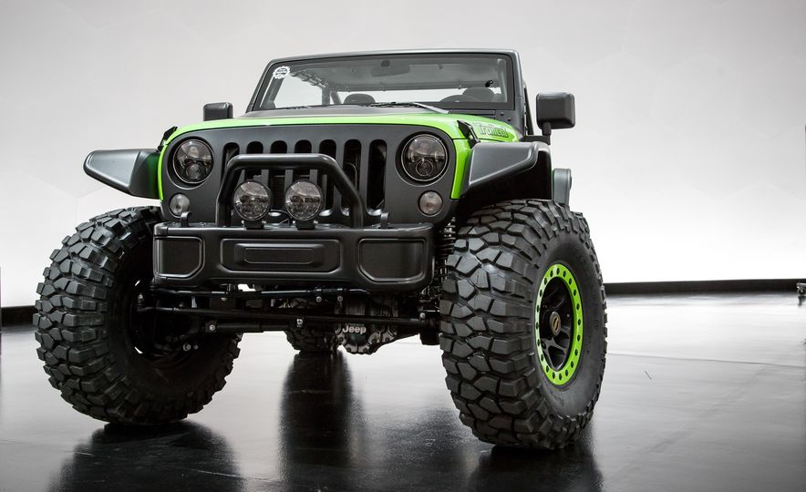 Jeep Trailcat concept - Slide 1