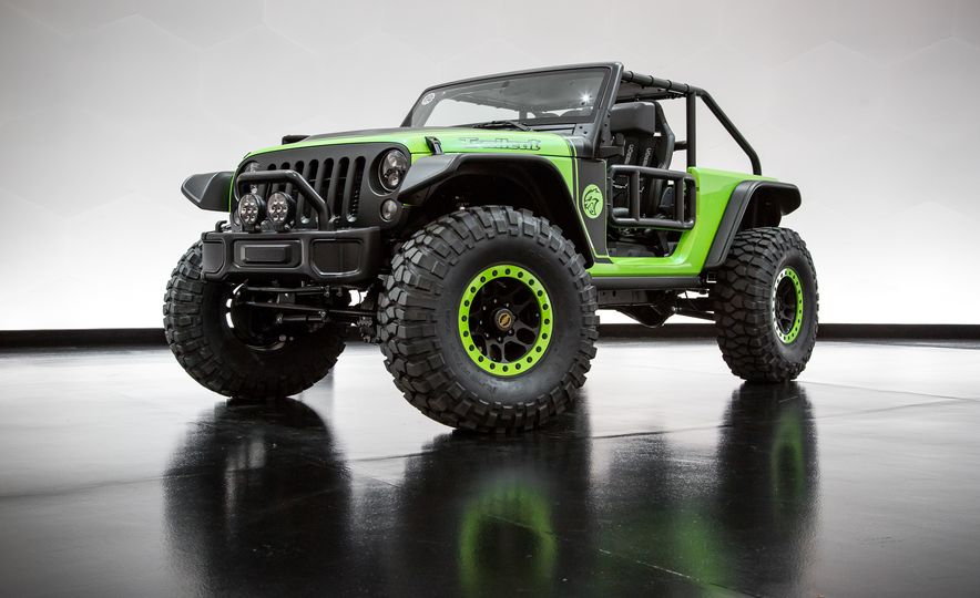 Every Crazy Jeep Concept Created for the 50th Easter Jeep Safari - Slide 4