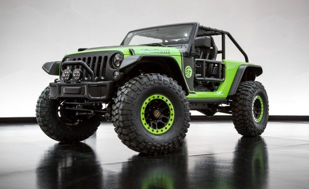 Jeep Trailcat Is the 707-hp Hellcat-Powered Wrangler from Hell