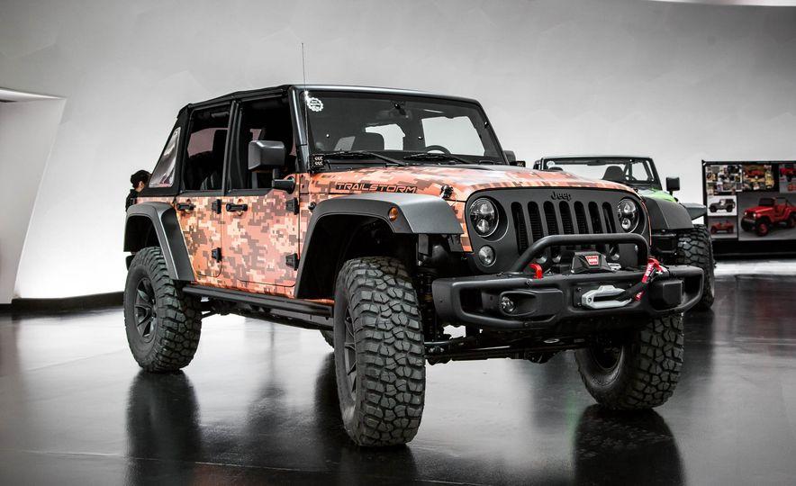 Jeep Wrangler Trailstorm concept - Slide 2