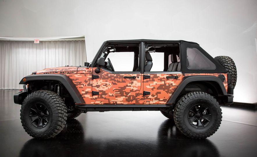 Jeep Wrangler Trailstorm concept - Slide 5