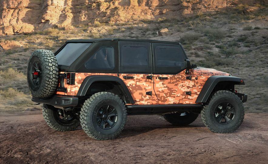 Jeep Wrangler Trailstorm concept - Slide 8
