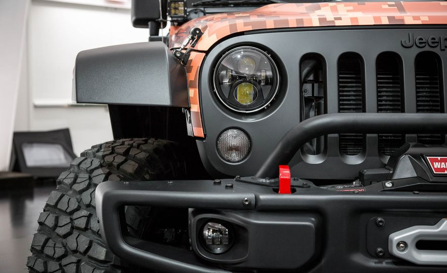 Jeep Wrangler Trailstorm concept - Slide 10