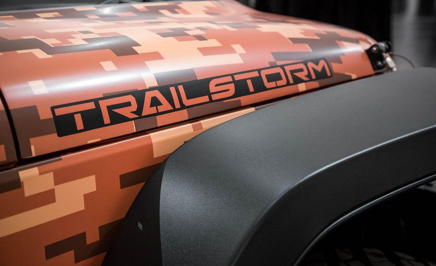 Jeep Wrangler Trailstorm concept - Slide 11