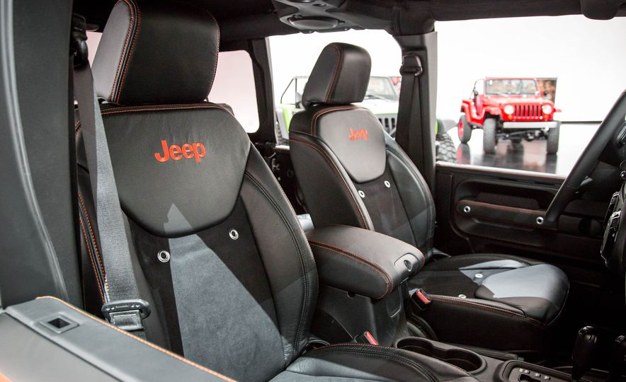 Jeep Wrangler Trailstorm concept - Slide 14