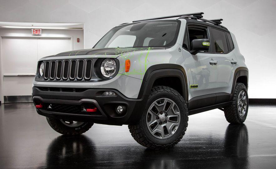 Jeep Wrangler Trailstorm concept - Slide 16