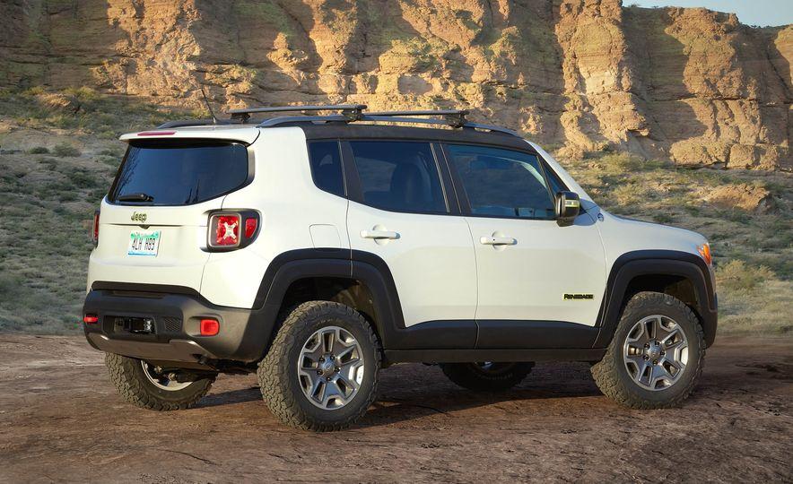 Jeep Wrangler Trailstorm concept - Slide 20