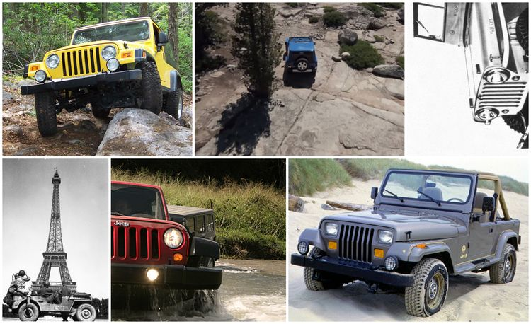 The Complete Visual History of the Jeep Wrangler, from 1986 to Present