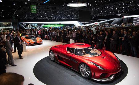 Koenigsegg Baits Bugatti Chiron with 1500-hp, Production-Spec Regera
