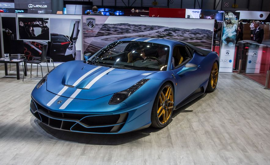 11 of the Wildest Rides of the 2016 Geneva Auto Show - Slide 14