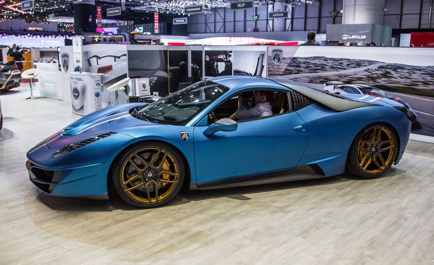 11 of the Wildest Rides of the 2016 Geneva Auto Show - Slide 15
