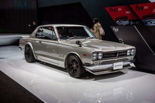 Godzilla Vs New York Vintage Nissan Skyline Gt R Heritage Display