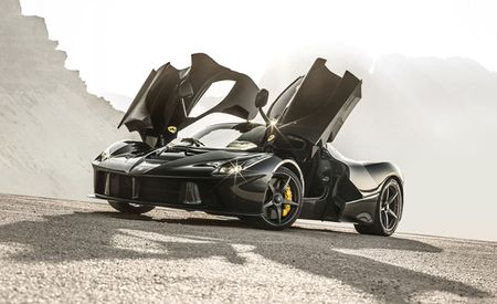 More Evidence a LaFerrari Spider Is Coming