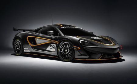 Macdown! McLaren Shows Track Versions of Sports Series