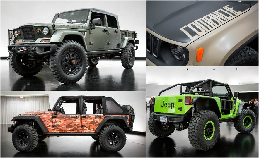 Every Crazy Jeep Concept Created for the 50th Easter Jeep Safari - Slide 1