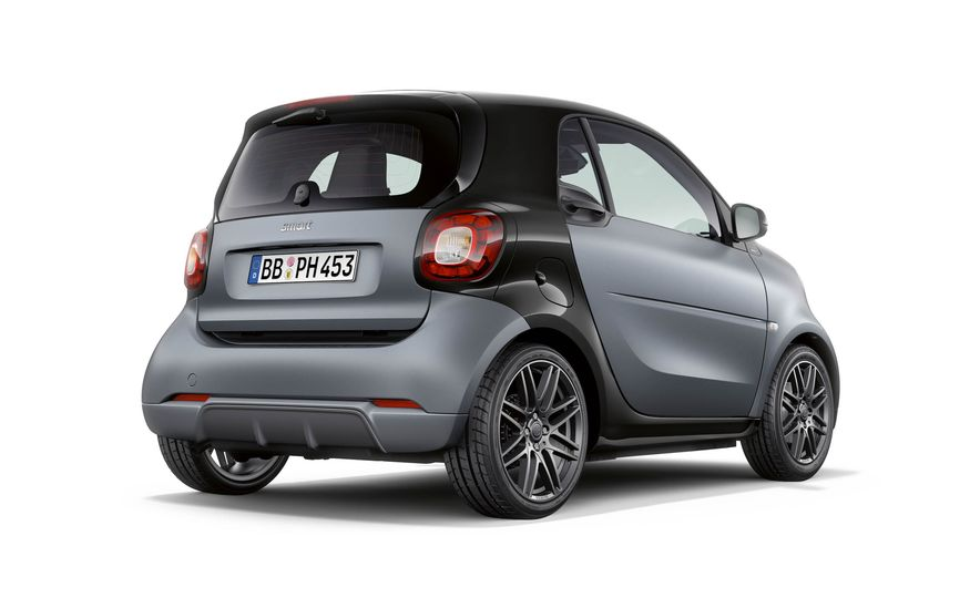 Smart Fortwo cabriolet Brabus edition - Slide 14